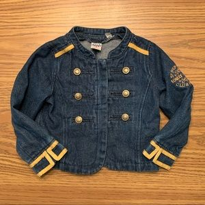 Junk Food | Beatles Denim Jacket, 4T